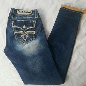 Rock Revival Jeans size 28 skinny Kayla